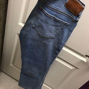 J crew maternity boot cut crop Jean